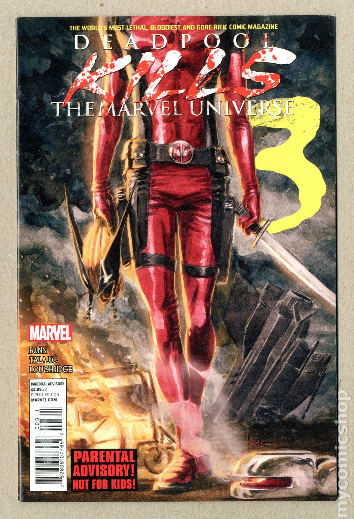 Deadpool Kills The Marvel Universe 2 Scan