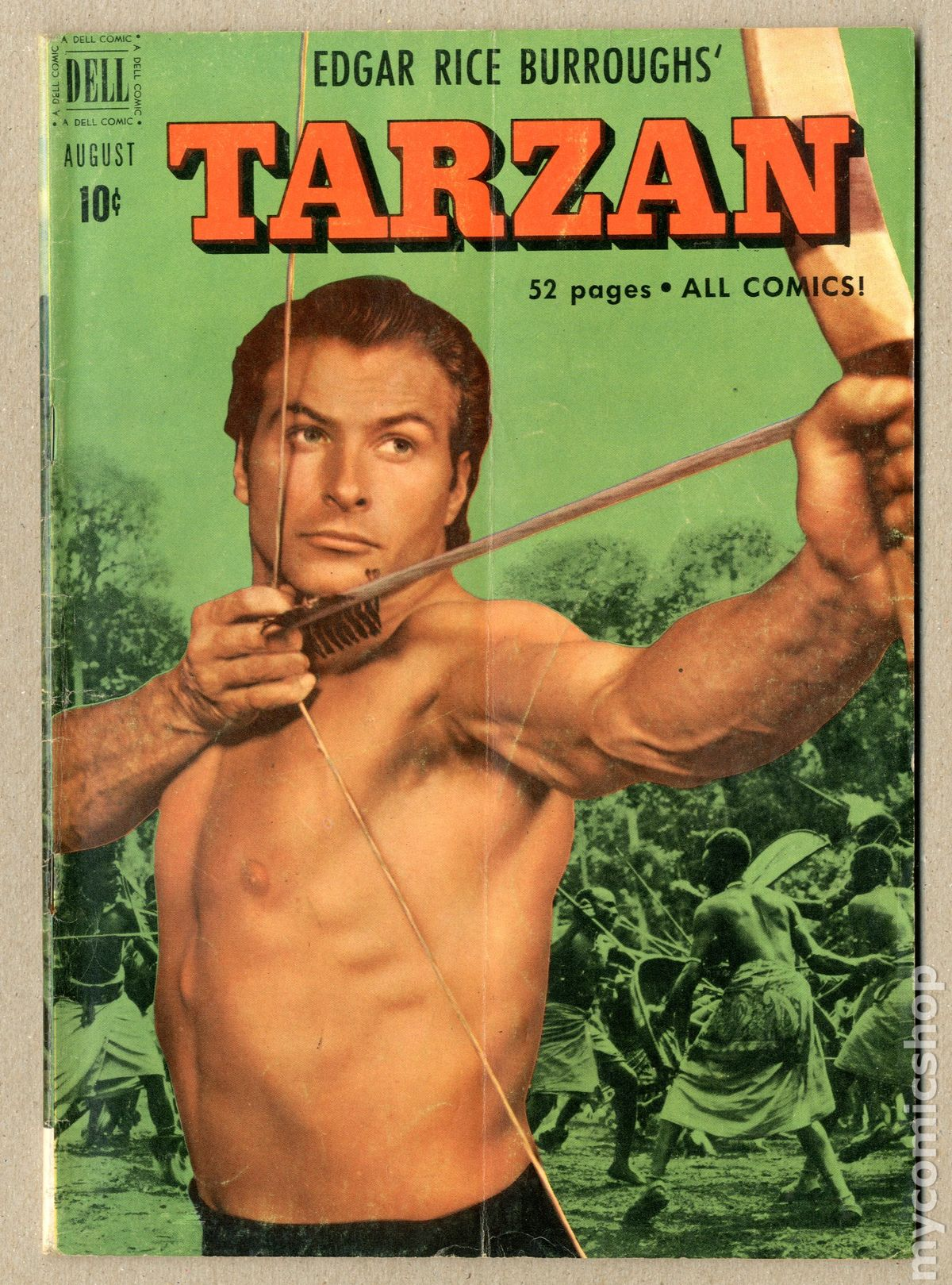tarzan (1948-1972 dell/gold key) #23 gd/vg 3.