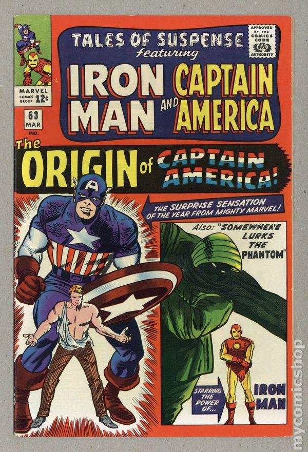 Tales Of Suspense #63 - 4.5 NOW $70.00 - Origin of Captain America
