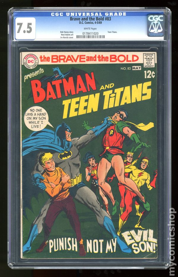Batman and the Teen Titans star in