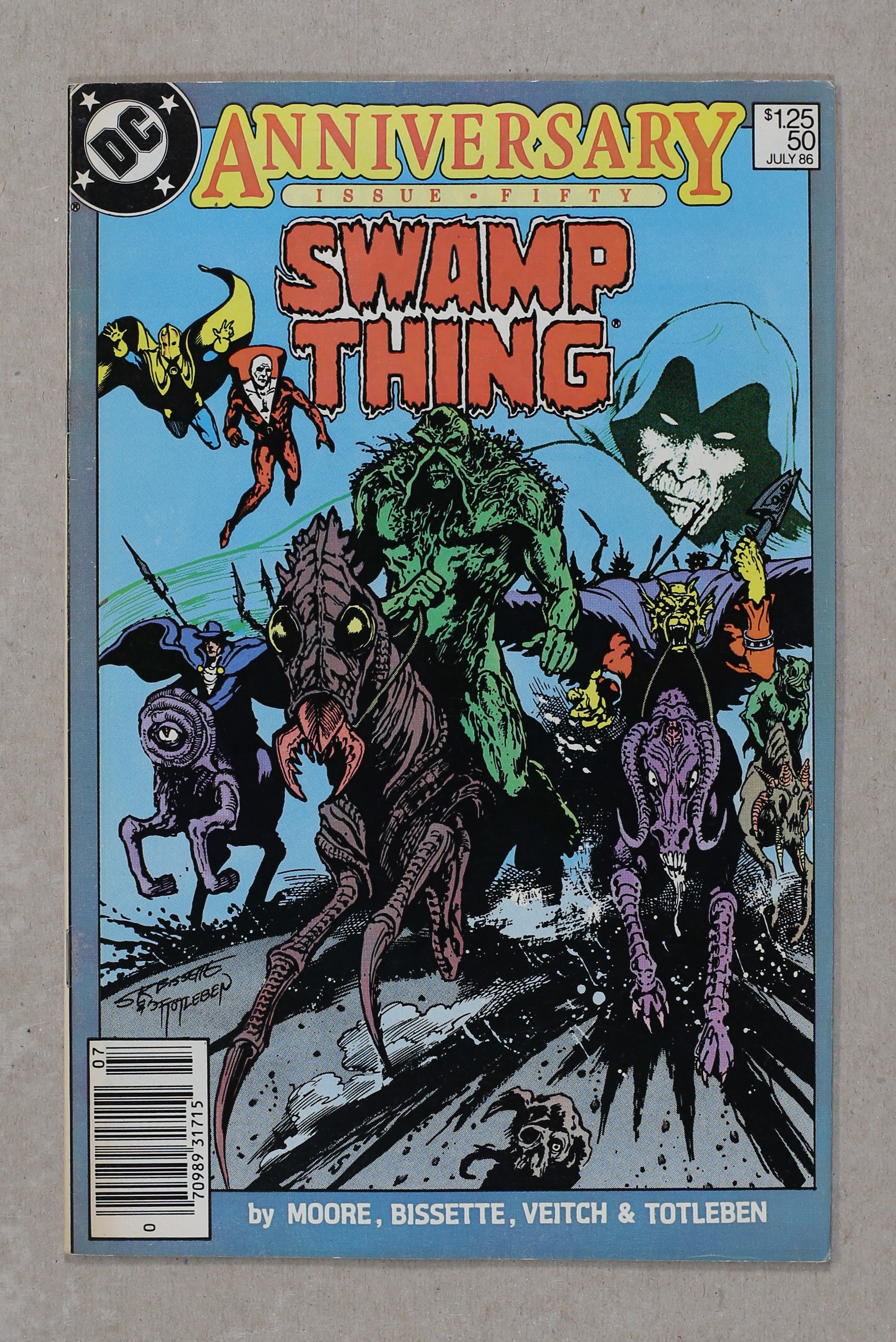 SWAMP THING # 2 FN+ (6.5) WRIGHTSON ART and CVR_1st PATCHWORK MAN APPEARANCE_CENTS