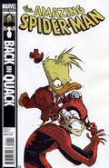 Amazing Spider-Man Back in Quack (2010) Howard the Duck 1