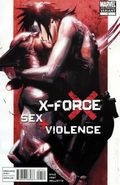 X-Force Sex and Violence (2010) 1B