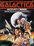 Battlestar Galactica Color and Activity Book SC (1978) BG-353