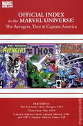 Official Index Marvel Universe Avengers Thor Capt. America 8