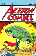 Action Comics (1938 DC) #1 Reprints 1-1991-50BLACK
