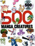 500 Manga Creatures SC (2008) 1B-1ST