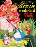 Alice in Wonderland Paint Book SC (1951 Whitman) 1-1ST