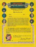 Junior Justice Society of America Certificate (1945) 1945