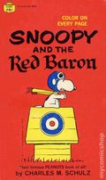 Snoopy and the Red Baron PB (1966 Fawcett Crest Book) 1-REP