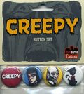 Creepy Button Set (2009 dark Horse) SET-01