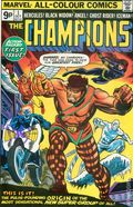 Champions (1975 Marvel) UK Edition 1