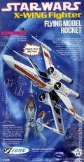 Star Wars X-Wing Fighter Flying Model Rocket (1977 Estes) 1298-KIT