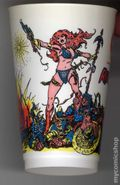 7-Eleven Marvel Super Heroes Collectible Cups (1975 Marvel) REDSONJA