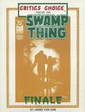 Critics Choice Magazine: Swamp Thing Finale SC (1987 Psi Fi Press) 1-1ST
