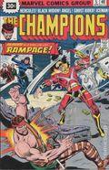 Champions (1975 Marvel) 30 Cent Variant 5