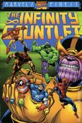 Infinity Gauntlet TPB (1992 Marvel) 1st Edition 1-REP