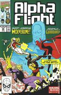 Alpha Flight (1983 1st Series) 90