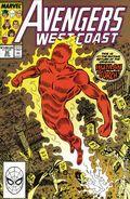 Avengers West Coast (1985) 50