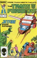 Transformers (1984 Marvel) 1st Printing 11