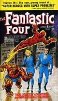 Fantastic Four Collector's Album PB (1966 Lancer Books) 1-1ST