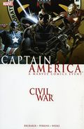 Civil War Captain America TPB (2007) 1-1ST