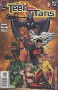 Teen Titans (2003-2011 3rd Series) 1BDFSIGNED