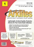 Comic Sleeve: Mylar Super Golden Arklite 1pk (#162-001)