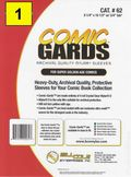 Comic Sleeve: Mylar Super Gold Comic-Guard 1pk (#062-001)