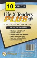 Comic Boards: Life-X-Tender Plus 10pk (#720-010) 