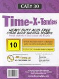 Comic Boards: Magazine Time-X-Tender 10pk (#030-010) 