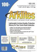 Comic Sleeve: Silver/Gold Arklite 100pk (#161-100)