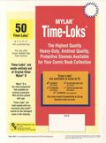 Comic Sleeve: Super Gold Time-Loks 50pk (#814-050)