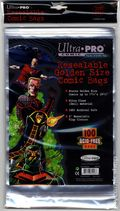 Comic Bags: Golden Resealable 100pk Polypropylene 