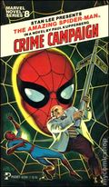 Amazing Spider-Man Crime Campaign PB (1979 Marvel Novel Series) 1-1ST