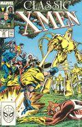 X-Men Classic (1986 Classic X-Men) Mark Jewelers 24MJ