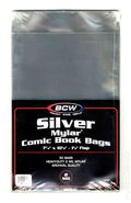 Mylar: Comic, Silver 50pk 2Mil 