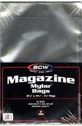 Mylar: Comic, Magazine 50pk 2Mil 