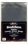 Mylar: Comic, Golden 50pk 2Mil 