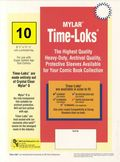 Comic Sleeve: Mylar Super Gold Time-Loks 10pk (#814-010)