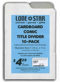 Comic Title Dividers: Cardboard, 10 Pack