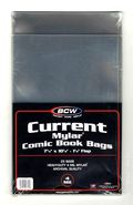 Mylar: Comic, Current 25pk 4Mil 