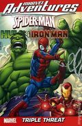 Marvel Adventures Spider-man, Hulk and Iron Man Triple Threat TPB (2009 Digest) 1-1ST