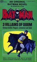Batman vs. Three Villains of Doom PB (1966 Signet Novel) 1-1ST