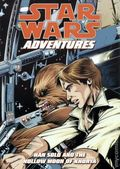 Star Wars Adventures Han Solo and the Hollow Moon of Khorya GN (2009 Dark Horse Digest) 1-1ST