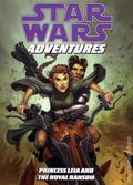 Star Wars Adventures Princess Leia and the Royal Ransom TPB (2009 Dark Horse Digest) 1-1ST