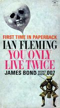 James Bond 007 You Only Live Twice PB (1964 Novel) 1-REP