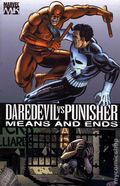 Daredevil vs. Punisher Means and Ends TPB (2006 Marvel Knights) 1st Edition 1-1ST