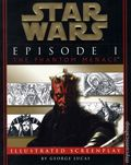 Star Wars Episode I The Phantom Menace Illustrated Screenplay SC (1999) 1-1ST