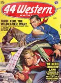 44 Western Magazine (1937-1954 Pulp/Digest) Volume 18, Issue 4